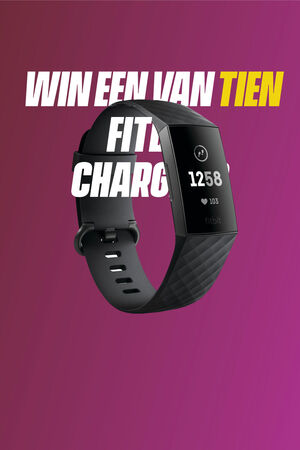 Win een Fitbit Charge 3