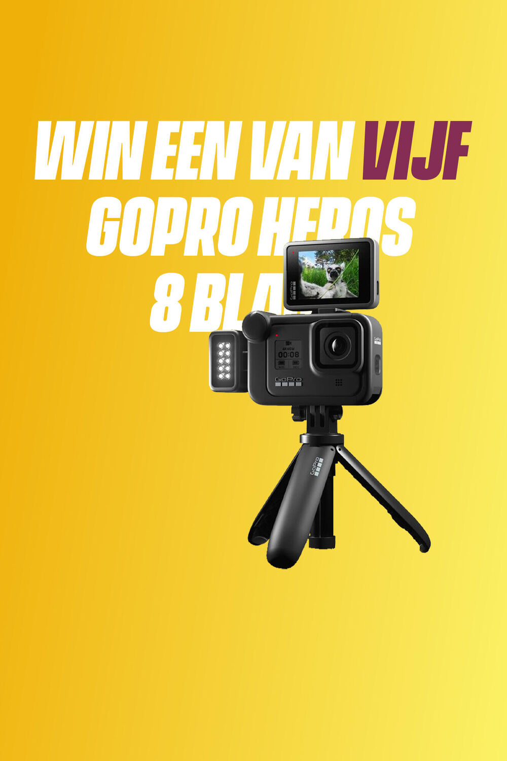 Win een GoPro HERO 8