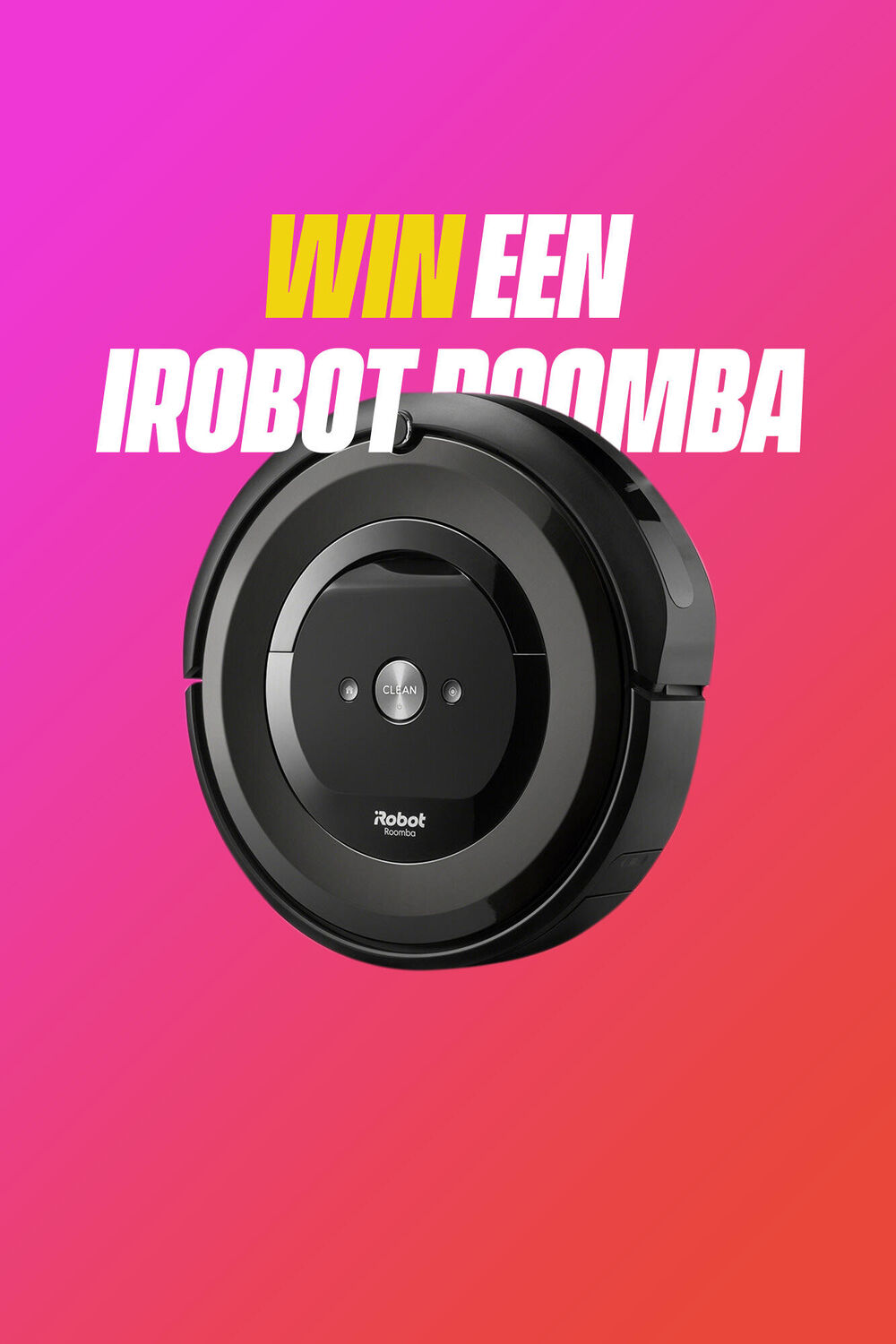 Win een iRobot Roomba