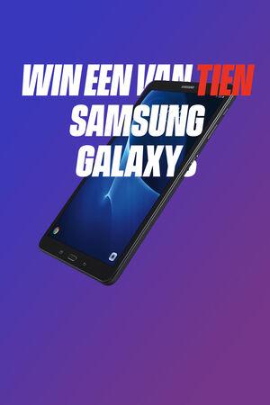 Win een Samsung Galaxy Tab